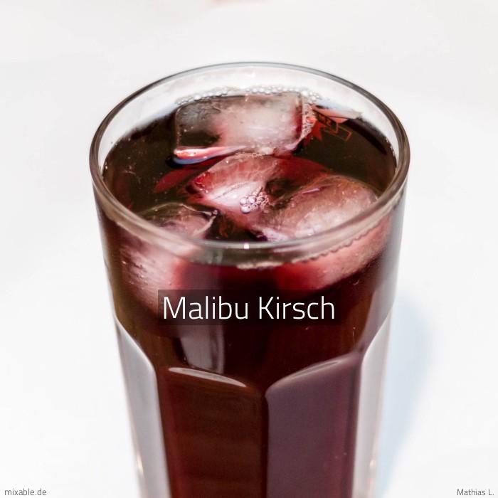 Rezept: Malibu Kirsch, Cocktails & Drinks | mixable.de