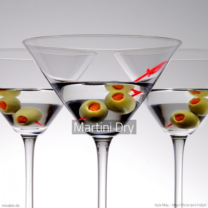 rezept martini dry cocktails drinks. Black Bedroom Furniture Sets. Home Design Ideas