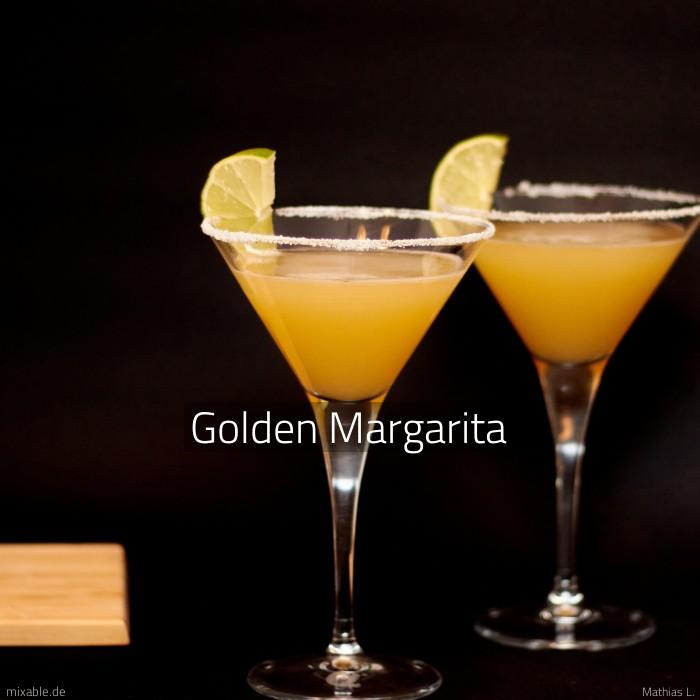 Rezept Golden Margarita Cocktails Drinks Mixable De